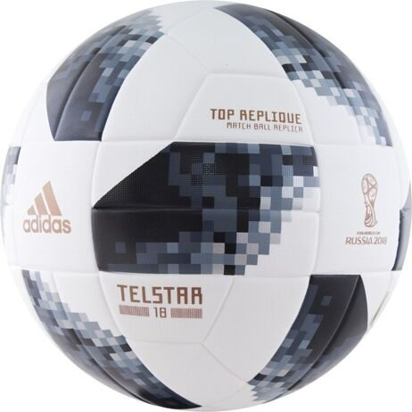 МЯЧ ФУТБОЛЬНЫЙ ADIDAS WC2018 TELSTAR TOP REPLIQUE CE8091